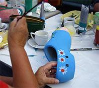 Workshop Klompen Schilderen Enkhuizen