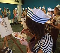 Workshop naakt schilderen Enkhuizen